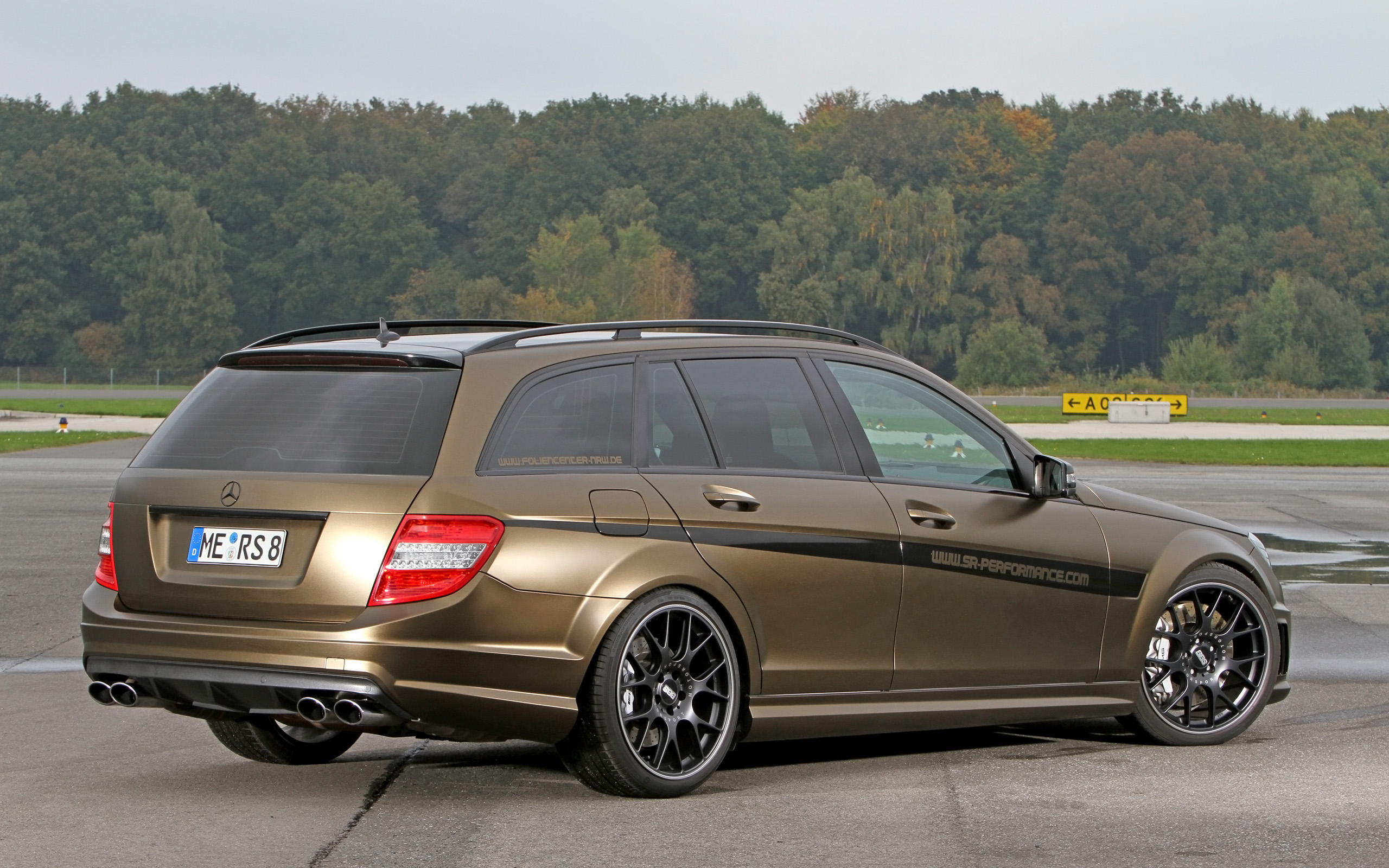 2013 foliencenter nrw mercedes benz c63 amg stationwagon