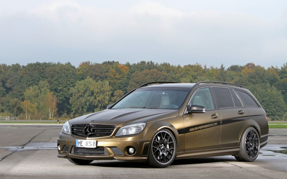 2013 FolienCenter-NRW Mercedes Benz C63 AMG stationwagon tuning   h wallpaper