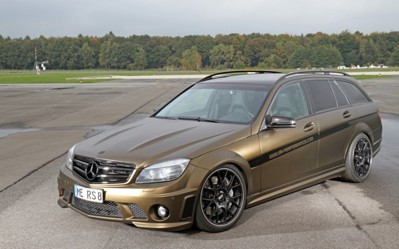 2013 FolienCenter-NRW Mercedes Benz C63 AMG stationwagon tuning g wallpaper