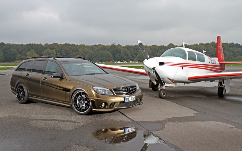 2013 FolienCenter-NRW Mercedes Benz C63 AMG stationwagon tuning wallpaper