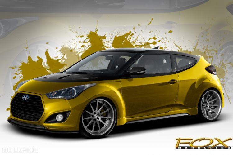 2013 Fox-Marketing Hyundai Veloster Turbo tuning wallpaper