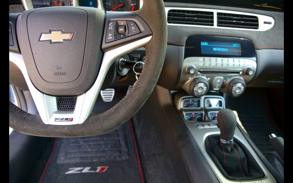 2013 GeigerCars Chevrolet Camaro LS9 muscle tuning interior   s wallpaper