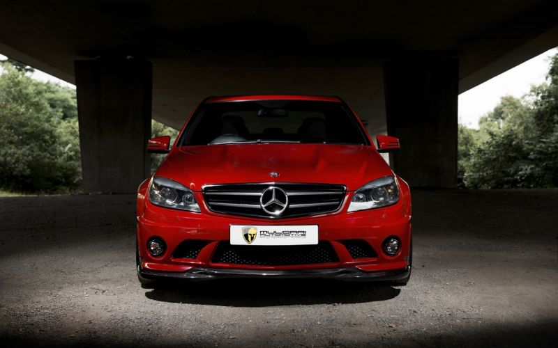 2013 Mulgari Mercedes Benz C63 510 tuning rr wallpaper