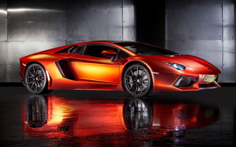 2013 Print-Tech Lamborghini Aventador supercar wallpaper