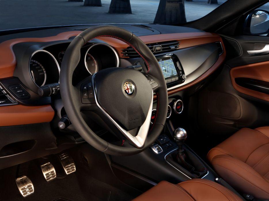 2014 Alfa Romeo Giulietta Sportiva (940) interior    t wallpaper