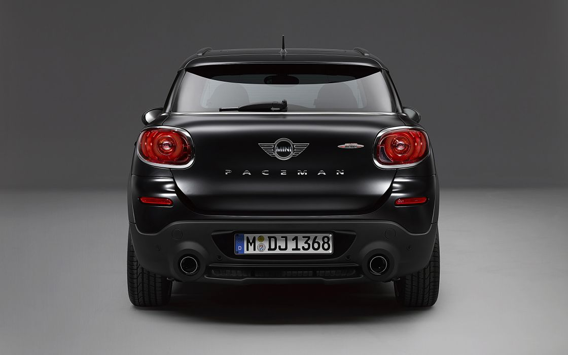 2014 Mini John Cooper Works Paceman Frozen Black d wallpaper