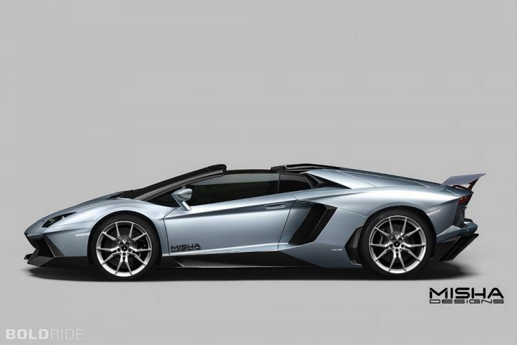 2014 Misha-Designs Lamborghini Aventador Roadster supercar b wallpaper
