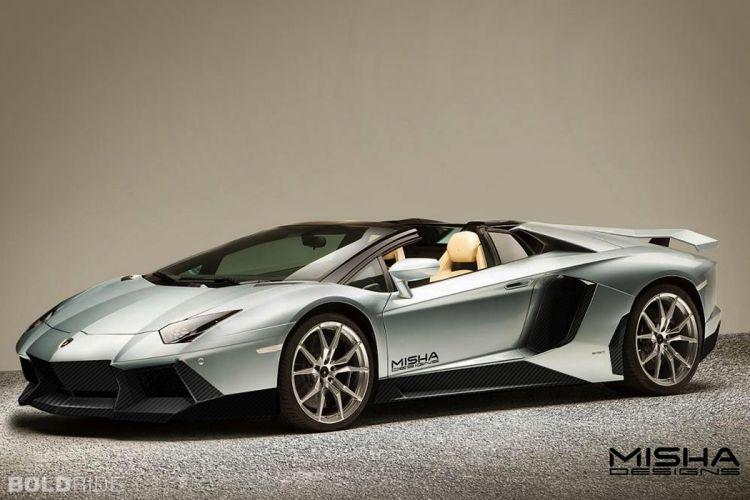 2014 Misha-Designs Lamborghini Aventador Roadster supercar wallpaper