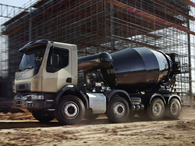 2014 Volvo VM 270 8x4 Mixer v-m semi tractor v-m wallpaper