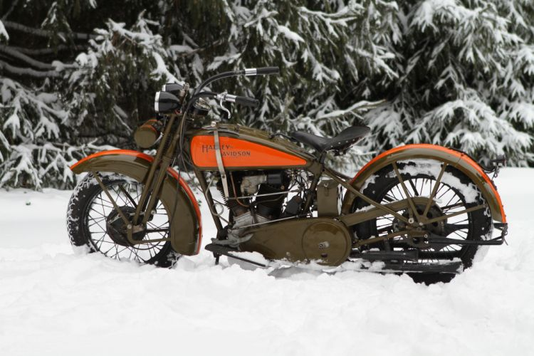 1929 Harley JDH Classic 2 Cam Motorcycle g wallpaper