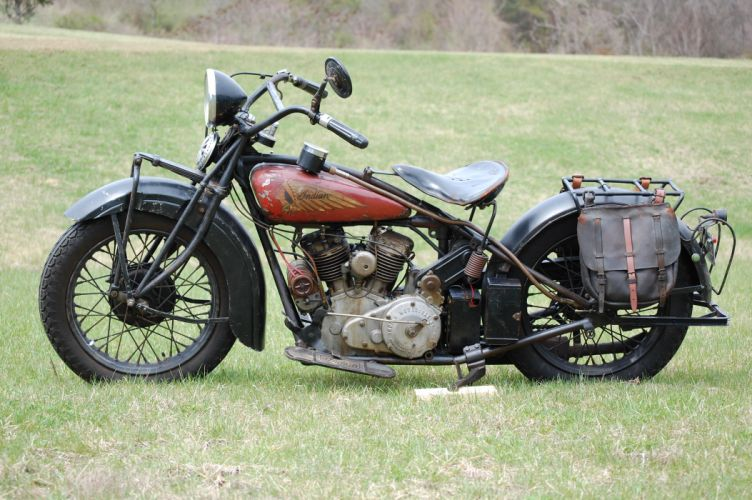 1931 Indian 101 Scout retro g_JPG wallpaper