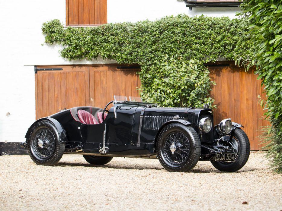 1934 Aston Martin Ulster race racing retro   f wallpaper