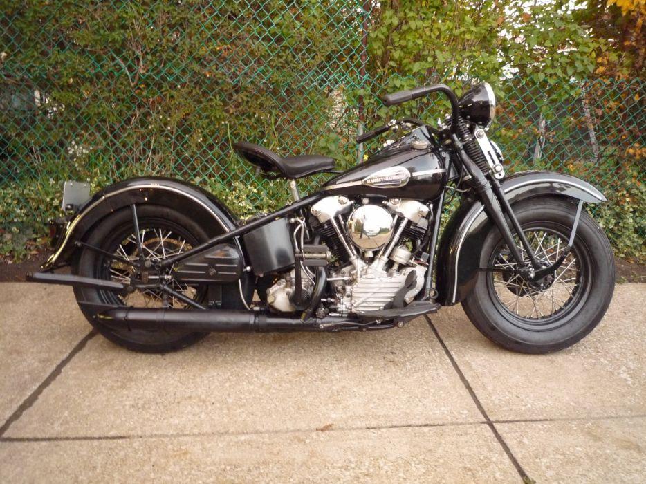 Harley Davidson Log: 1941 Harley Davidson Knucklehead Retro_JPG Wallpaper