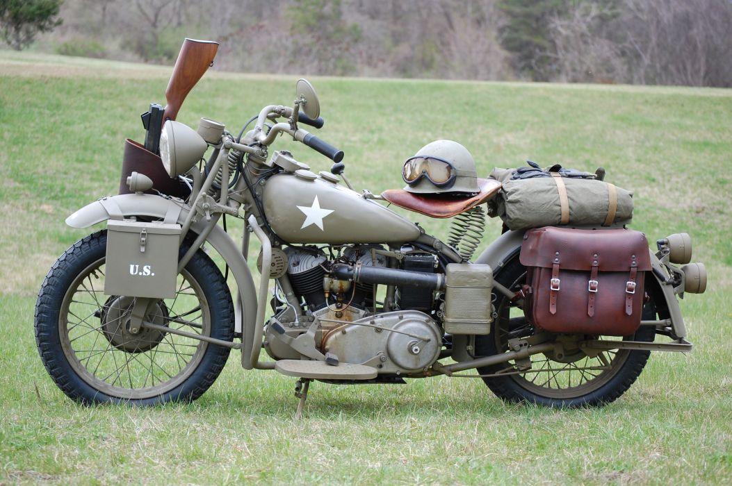 1943 Indian Model 741 military retro     f_JPG wallpaper