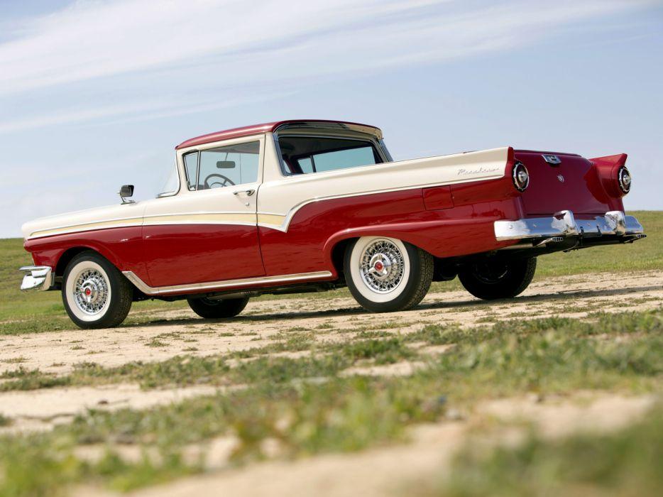 1957 Ford Ranchero Custom 300 pickup retro  fd wallpaper