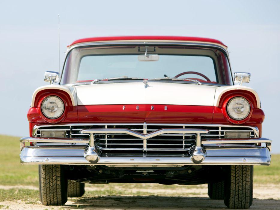 1957 Ford Ranchero Custom 300 pickup retro  fw wallpaper