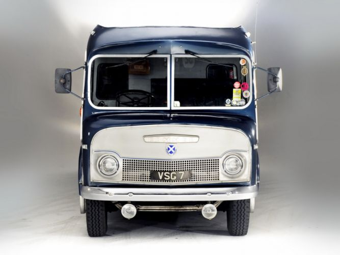 1959 Commer Ecurie Ecosse Transporter semi tractor retro h wallpaper