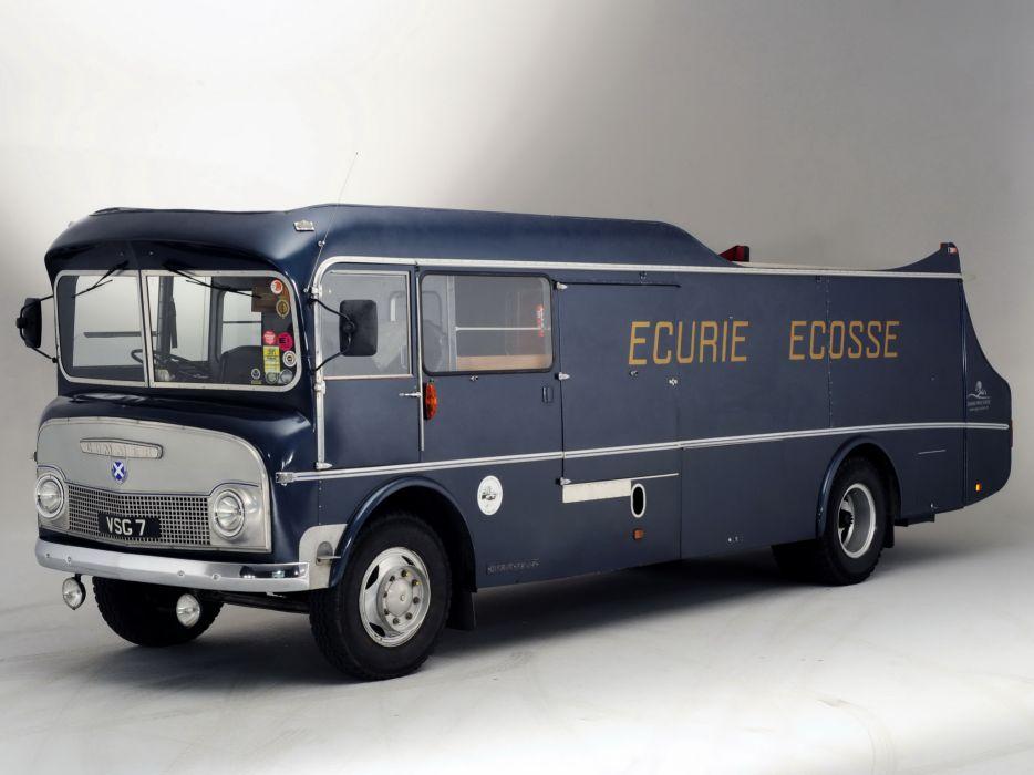 1959 Commer Ecurie Ecosse Transporter semi tractor retro wallpaper