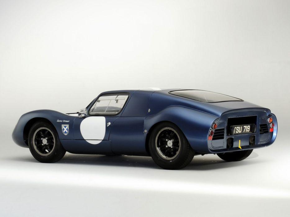 1962 Tojeiro Ecosse Coupe Prototype le-mans race racing classic   g wallpaper