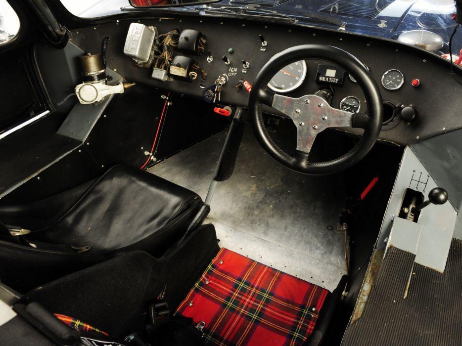 1962 Tojeiro Ecosse Coupe Prototype le-mans race racing classic interior t wallpaper