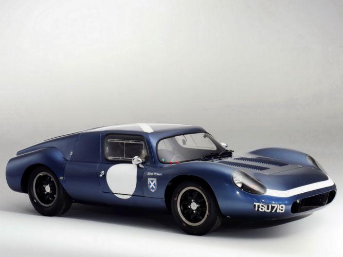 1962 Tojeiro Ecosse Coupe Prototype le-mans race racing classic wallpaper