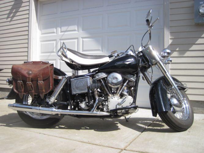 1965 Harley Davidson Electra Glide FLH classic g_JPG wallpaper