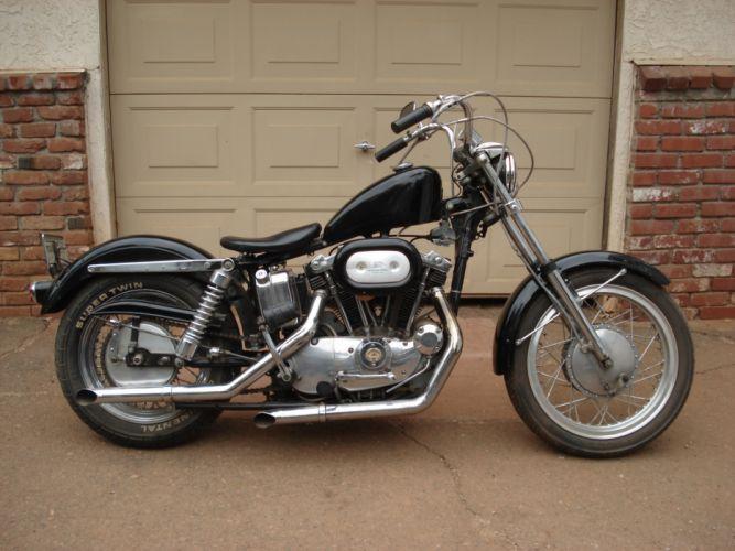 1971 Harley Davidson Sportster classic_JPG wallpaper