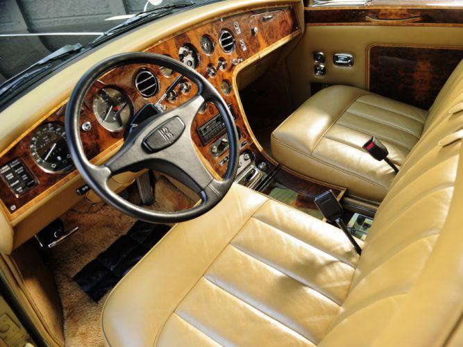 1992 Rolls Royce Phantom VI Landaulette luxury interior f wallpaper