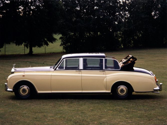 1992 Rolls Royce Phantom VI Landaulette luxury da wallpaper