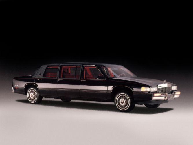 1992 Sayers Scovill Cadillac DeVille Professional Limousine luxury wallpaper