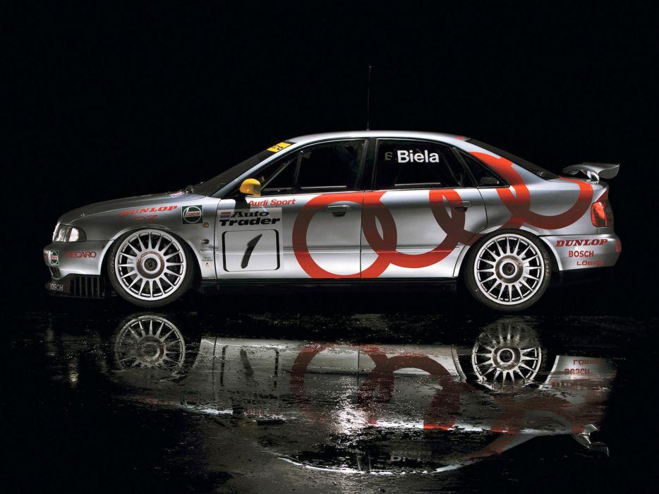 1996 Audi A4 Quattro BTCC race racing a-4   f wallpaper