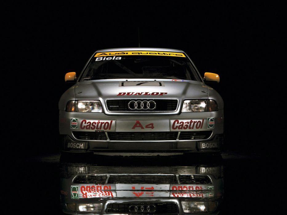 1996 Audi A4 Quattro BTCC race racing a-4   r wallpaper