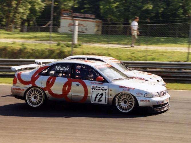1996 Audi A4 Quattro BTCC race racing a-4 g wallpaper