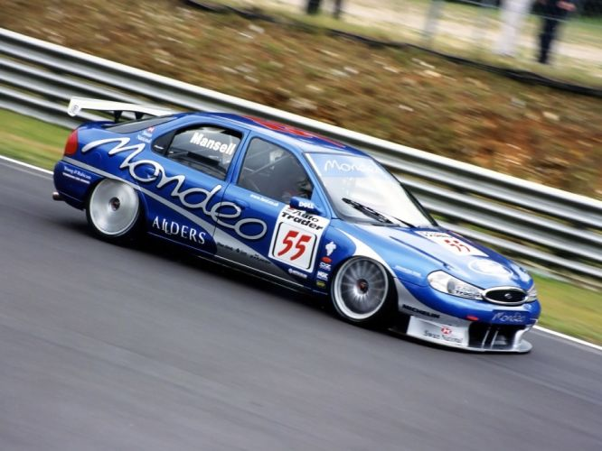 1996 Ford Mondeo BTCC race racing f wallpaper