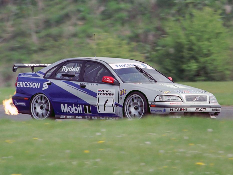 1997 Volvo S40 TWR BTCC race racing wallpaper