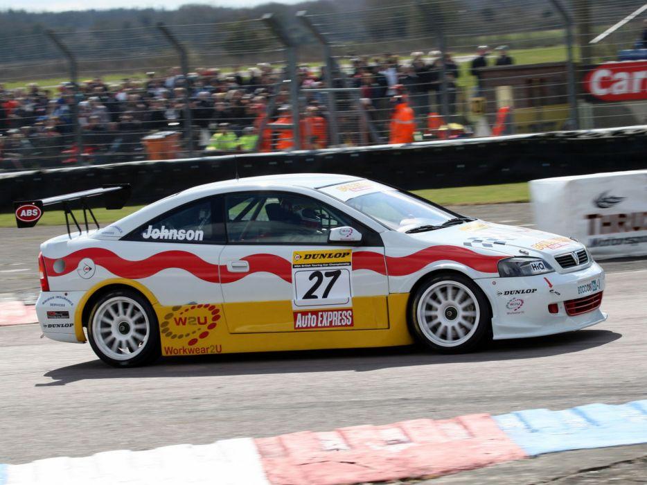 2001 Vauxhall Astra Coupe BTCC race racing        h wallpaper