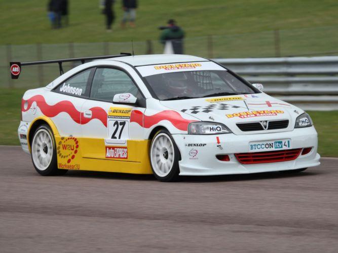 2001 Vauxhall Astra Coupe BTCC race racing f wallpaper