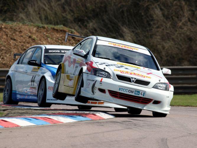 2001 Vauxhall Astra Coupe BTCC race racing r wallpaper