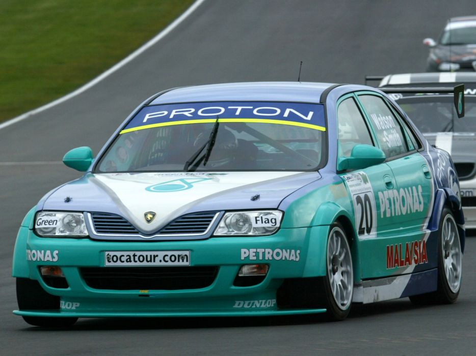 2002 Proton Impian BTCC race racing      d wallpaper