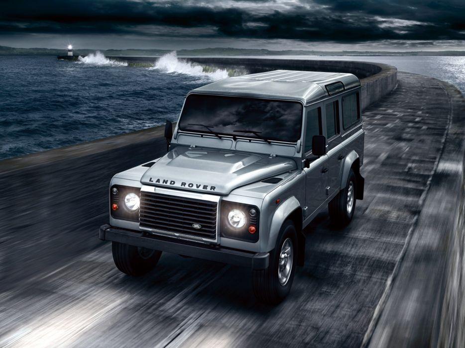 2007 Land Rover Defender 110 StationWagon EU-spec 4x4 suv   u wallpaper