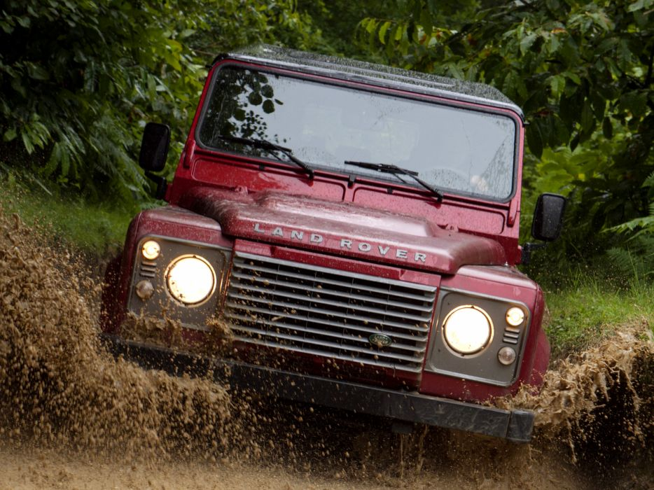 2007 Land Rover Defender 110 StationWagon EU-spec 4x4 suv   kf wallpaper