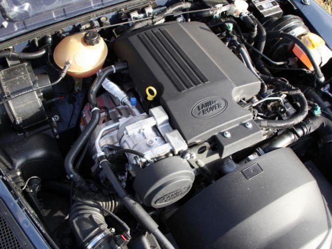 2007 Land Rover Defender 110 StationWagon EU-spec 4x4 suv engine h wallpaper