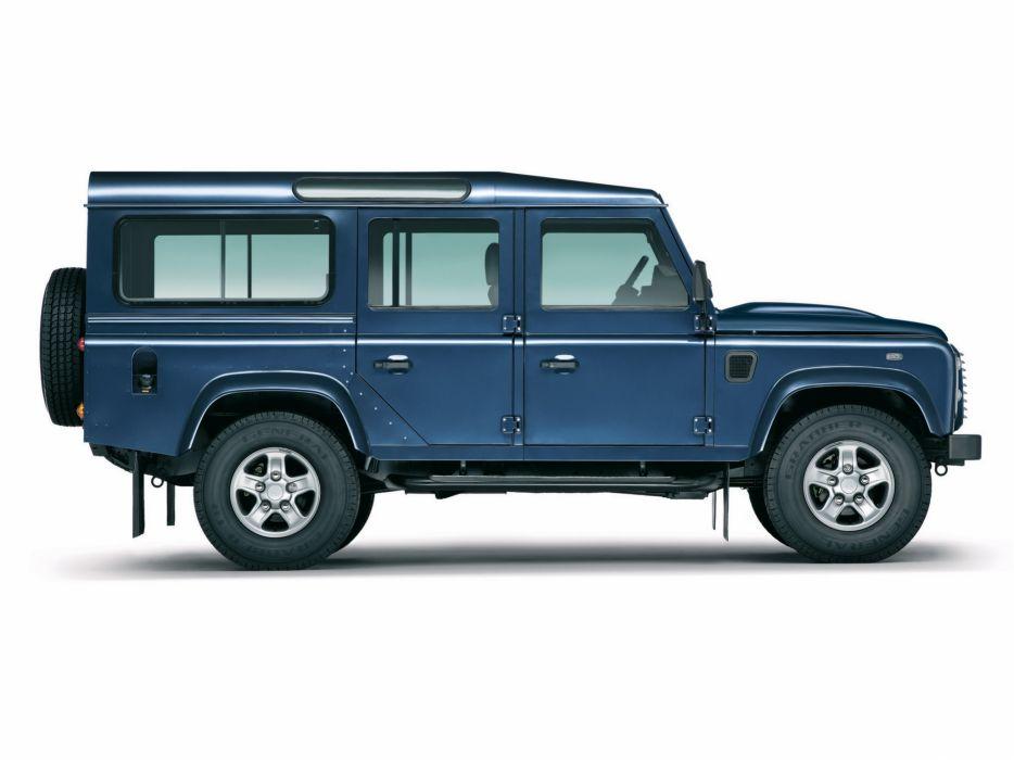 2007 Land Rover Defender 110 StationWagon EU-spec 4x4 suv  j wallpaper