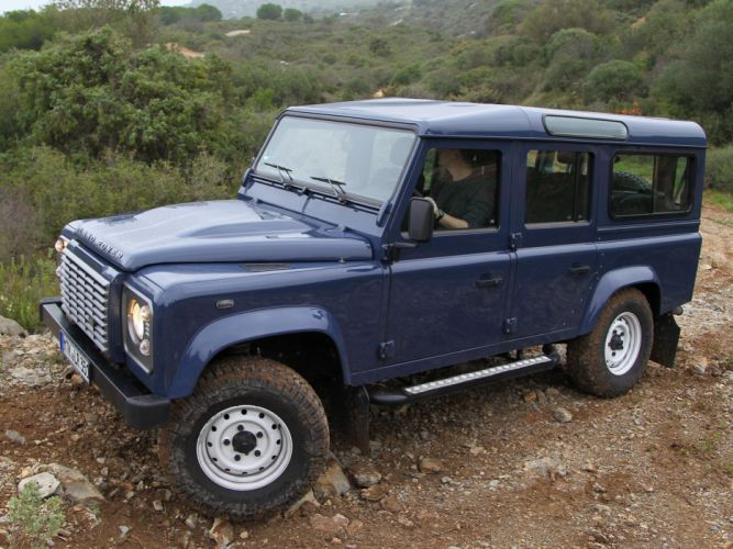 2007 Land Rover Defender 110 StationWagon EU-spec 4x4 suv wallpaper