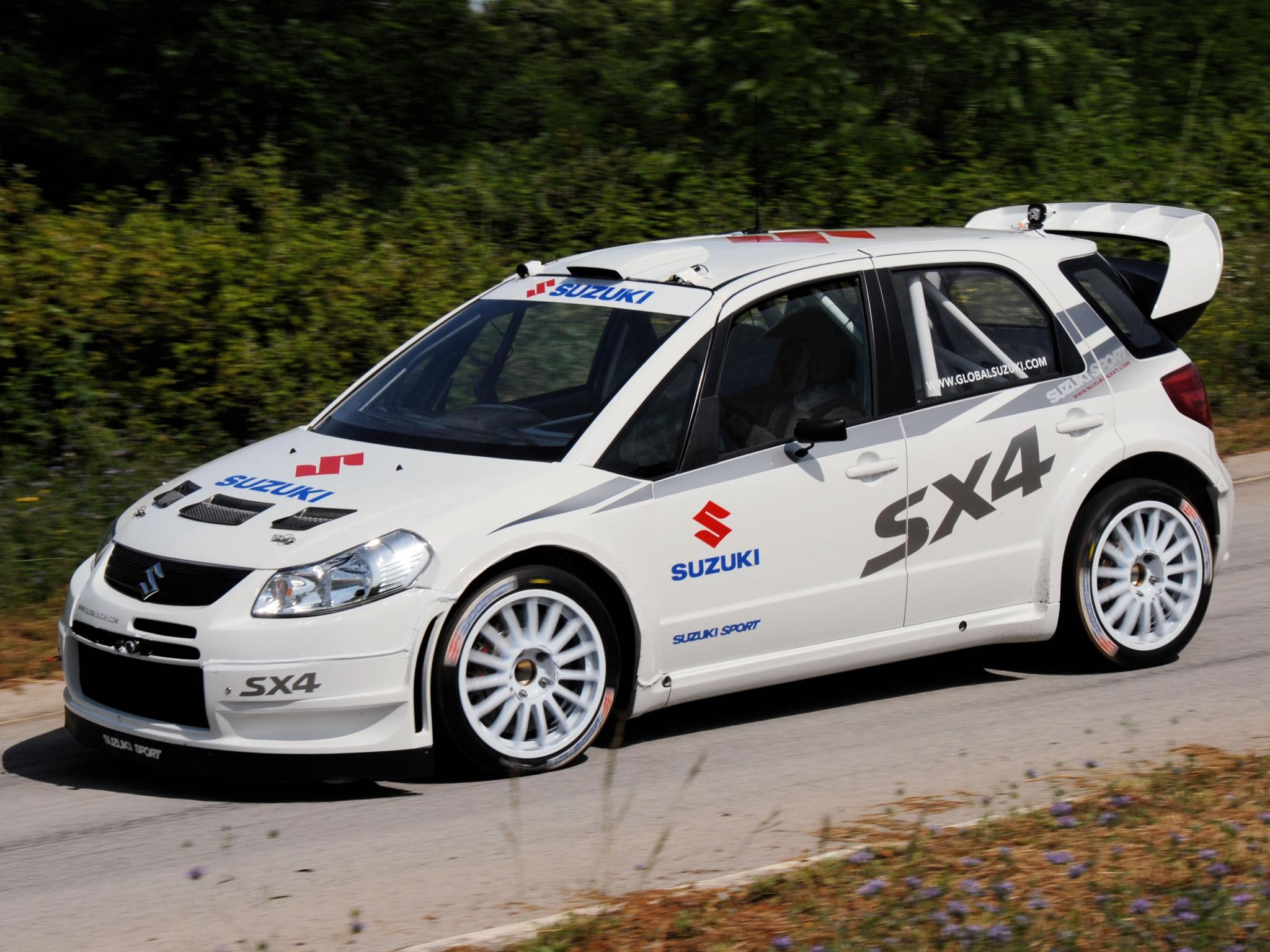 Suzuki Swift Rally Car Parts