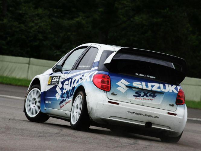 2007 Suzuki SX4 WRC race racing rally v wallpaper