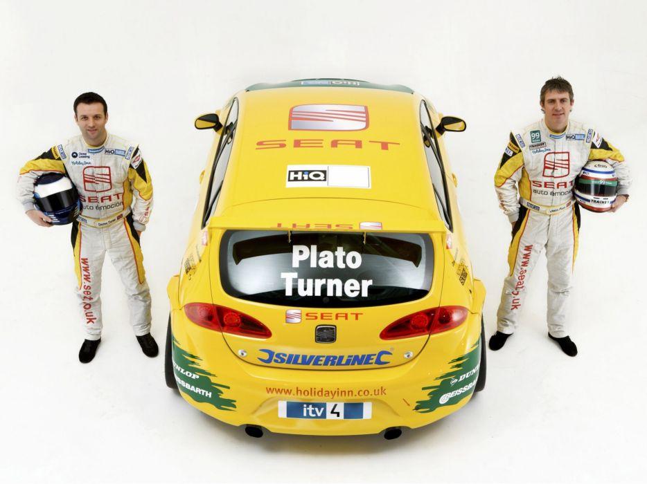 2008 Seat Leon TDI BTCC race racing   r wallpaper