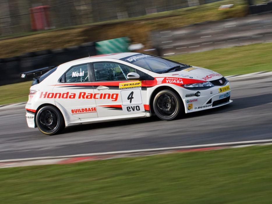 2009 Honda Civic BTCC race racing    y wallpaper