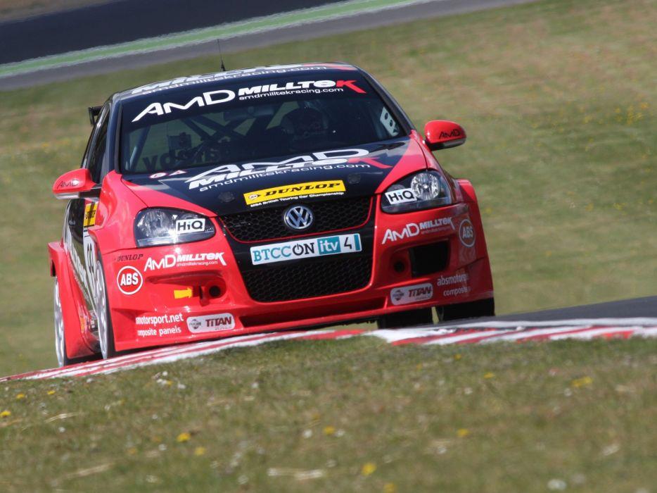2010 Volkswagen Golf BTCC race racing   f wallpaper