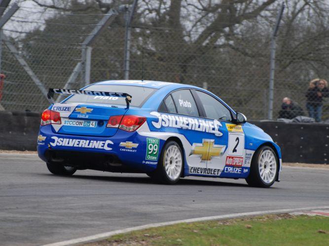 2011 Chevrolet Cruze BTCC race racing r wallpaper